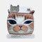 Cute Pet Pattern Warm Plush Mask - 05
