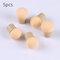 5pcs/10pcs Kit Soft Sponge Replacement Heads Glitter Powder Nail Brush Round Sharp Head Random - 01