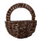 Wall Hanging Flower Basket Decoration  Willow Strips Wall Hanging Flower Vase Home Decorative Craft  - #3