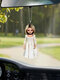 1 PC Halloween Doll Pendant Creative Horror Toys Zombies Skeleton Dwarf Decoration Car Rear View Mirror Hanging Funny Festival Gifts - #10