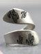 Vintage Desert Night Women Ring Adjustable Open Cactus Moon Sunrise Ring Jewelry Gift - #01