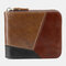 Genuine Leather Multi-slots Casual Card Holder Wallet Purse For Men - #01