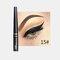 Matte Liquid Eyeliner Quick Dry Wasserdichter Eyeliner Bleistift Braun Lila Farbe Eyeliner Kosmetisches Make-up-Werkzeug - 15
