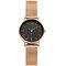 SHENGKE Classic Quartz Watches Ultra Thin Waterproof Leather Stainless Steel Minimalist Wathces - #1