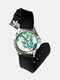 Casual Landscape Printed Men Watch Forest Leaves Flowers Pattern Women Quartz Watch - #03