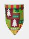 6 Pcs Christmas Pet triangle Scarf Pet Saliva Towel Double-Sided Dog Bandana Scarf Pet Supplies - #03
