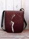 महिलाओं ने कैट की छाया क्रॉसबॉडी बैग शोल्डर बैग को पसंद किया - लाल