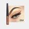 Matte Liquid Eyeliner Quick Dry Wasserdichter Eyeliner Bleistift Braun Lila Farbe Eyeliner Kosmetisches Make-up-Werkzeug - 06