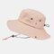 Men's Hiking Hat Big Breathable Sun Hat UV Protection Fisherman's Hat - Beige