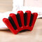 3 Colors Five Fingers Design Lady Hair Braiding Tool Twist Hair Braider Styling Tool DIY Accessorie - Red