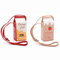 Women PU Leather Cute Milk Box Crossbody Bag Casual Phone Purse