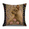 Retro Style Cats Leinen Baumwolle Kissenbezug Home Sofa Art Decor Throw Kissenbezug - #1