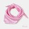 Square Plain Scarf Silk Headband Small Neckerchief Head Neck Lady Women Scarves - Pink