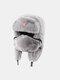 男性と女性の防寒冬用トラッパーハットマスクトラッパーハット付きの厚い冬用ハット耳栓 - #06