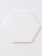 1PC Silicone Placemat Folding Hollow Dining Table Mats No-slip Insulation Pot Holder Mug Cup Drink Pad Kitchen Accessories - #01