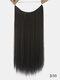 10 цветов длинные прямые Волосы удлинители химического волокна без следов ложные Волосы шт. - #04