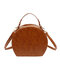 المرأة ليوبارد طباعة المحمولة جولة حقيبة الكتف حقيبة حقيبة كروسبودي