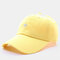 Men & Women Embroidery Pentagram Cartoon Baseball Cap Couple Cap - Yellow