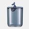 Desktop Storage Box Plastic Transparent With Lid Dustproof Creative Animal Small Debris Snacks Cotton Pad Cotton Swab Box - #3