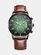 Alloy Business Casual Sports Belt Watch Quartz Watch For Men - #07