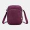 Women 3 Layer Waterproof Phone Bag Crossbody Bag - Purple