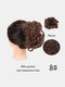 30 Colors Big Steel Fork Hair Ring Wig Updo Cover Fluffy Chemical Fiber Wig Piece - #05
