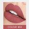 2 In 1 matten Lippenstift Lipgloss Double-Headed Design Wasserdicht Soft Smooth Cosmetic Lip Makeup - #04