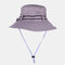 Fishing Hat Summer Outdoor Sun Protection Leisure Hiking Hat - Army Green