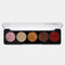 5 Colors Glitter Powder Sequin Eyeshadow Palette Pearlescent Makeup Glitter Pigment Smoky Eye Shadow - 2