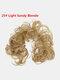 14 Colors Long Curly Wig Piece Disk Hair Caterpillars Hair Packs Bride Hair Extensions - #11