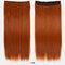 26 цветов длинные прямые Волосы удлинители 5 зажимов ложные Волосы шт. Высокотемпературное волокно Парик - 17