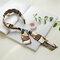 Bohemian Temperament Satin Streamer Headband Bow Tie Headband - White