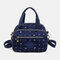 Women Nylon Waterproof Casual Handbag Crossbody Bag - #07