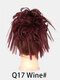 41 Colors Chicken Tail Hair Ring Messy Fluffy Rubber Band Curly Hair Bag Wig - 38