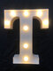 LED English Letter And Symbol Pattern Night Light Home Room Proposal Decor Creative Modeling Lights For Bedroom Birthday Party - #20