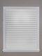 Cortina plisada de 1 pieza, filtrado de luz inalámbrico, tela plisada, cortina ciega, luz fácil de cortar e instalar - Blanco