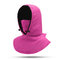 Women Winter Warm Casual Hat Outdoor Riding Ear Protection Thick Windproof Ski Facemask Hat - Rose Red