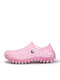 Women Summer Large Size Couples Hollow Out Garden Shoes Comfy Breathable Slip On Casual Beach Sandals - Pink