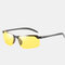 Photochromic Day and Night Driving Sunglasses with Polarized Lens For Riding Outdoor - #03