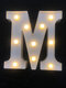 LED English Letter And Symbol Pattern Night Light Home Room Proposal Decor Creative Modeling Lights For Bedroom Birthday Party - #13