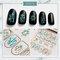 DIY Manicure Nail Sticker 3D Waterproof Butterfly Fruit Laser Nail Applique Decoration - 5