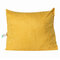 <US Instock>バックボルスター三角ウェッジ読書枕Soft電話ポケットと取り外し可能なカバー付きヘッドボードデイベッドクッション - 黄