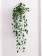 Artificial Greenery Fake Simulation Rattan Leaf Plant Wall Hanging Wedding Party Garden Wall Decor Home Decor - #01