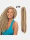 22 цвета цветная грязная коса Спираль длинная Волосы конский хвостик маленькая весна кудрявая Парик - #04