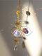 1 PC Sun Catcher Crystal Chandelier Ornament Aurora Wind Chimes with Prismatic Pendant Elegant Rainbow Maker Home Decor - #04