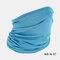 Windproof Sun-proof Dust-proof Headgear Mask Hat - Blue