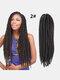 22 цвета цветная грязная коса Спираль длинная Волосы конский хвостик маленькая весна кудрявая Парик - #02