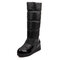 Big Size Women Comfy Plush Lined Height Increasing Wedges Knee Long Boots