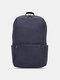 Oxford Multicolor Minimalist Stress Reliever Splashproof Breathable Outdoor Travel Backpack - Old Blue