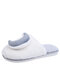 Women Plush Asymmetrical Star And Moon Sling Back Indoor Slippers - Gray